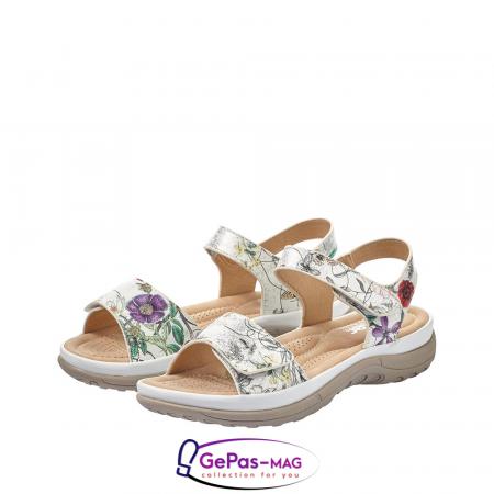 Sandale casual dama, multicolor, V8850-806