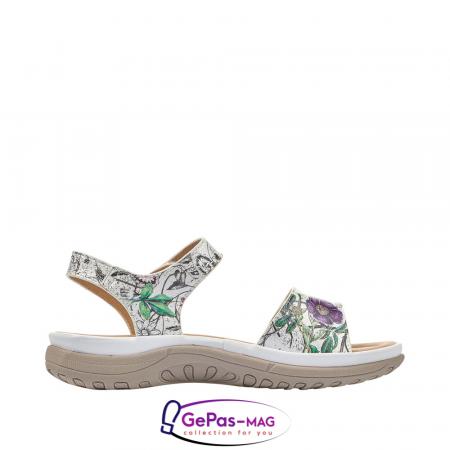 Sandale casual dama, multicolor, V8850-802