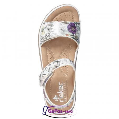 Sandale casual dama, multicolor, V8850-801