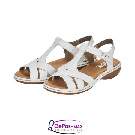 Sandale dama casual, piele naturala, 65919-806