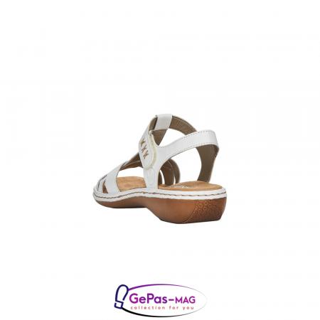 Sandale dama casual, piele naturala, 65919-804