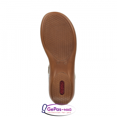 Sandale dama casual, piele naturala, 65919-801