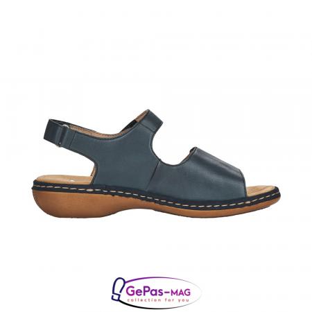 Sandale casual, piele naturala, 659G0-146
