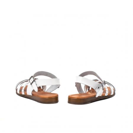 Sandale dama casual, piele naturala, E51500 J9-N6