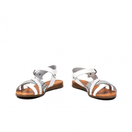 Sandale dama casual, piele naturala, E51500 J9-N4