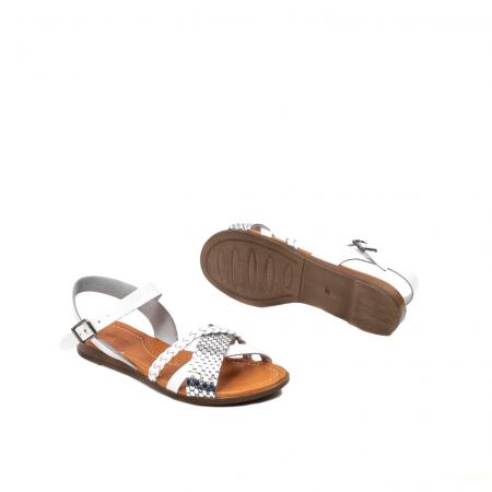 Sandale dama casual, piele naturala, E51500 J9-N3