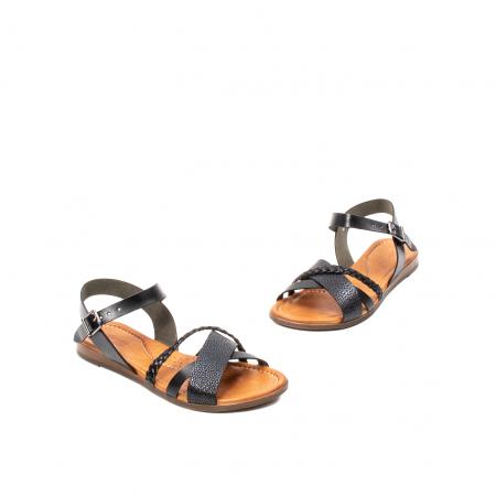 Sandale dama casual, piele naturala, E51500 L2-N1