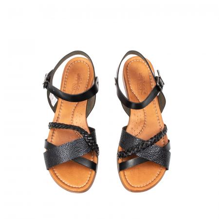 Sandale dama casual, piele naturala, E51500 L2-N5