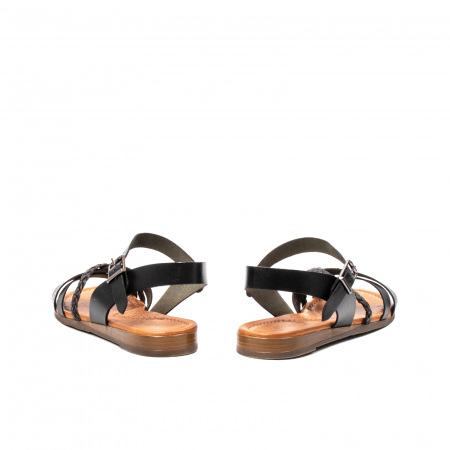 Sandale dama casual, piele naturala, E51500 L2-N6