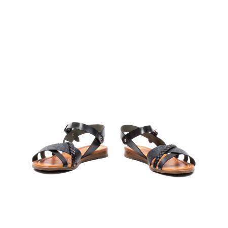 Sandale dama casual, piele naturala, E51500 L2-N4