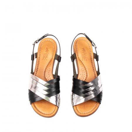 Sandale dama casual, piele naturala, E51503 L2-N5