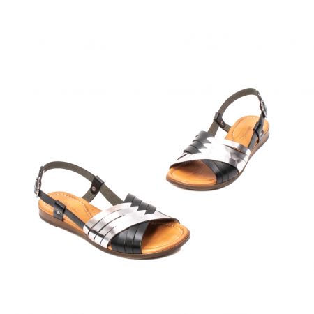 Sandale dama casual, piele naturala, E51503 L2-N1