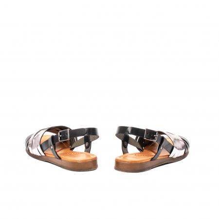 Sandale dama casual, piele naturala, E51503 L2-N6
