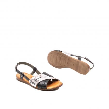 Sandale dama casual, piele naturala, E51503 L2-N3