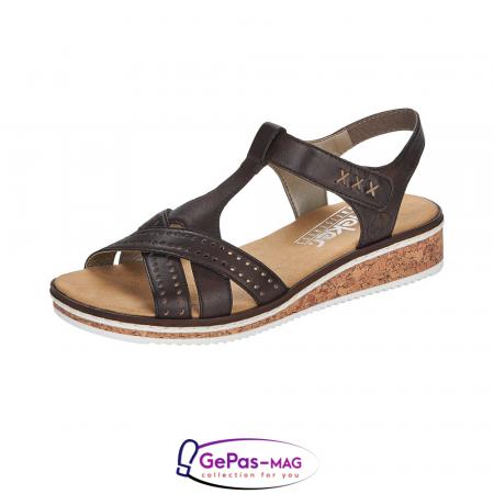 Sandale casual dama, piele naturala, V3677-250