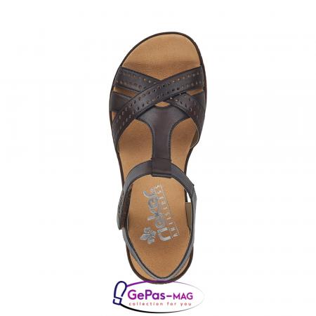 Sandale casual dama, piele naturala, V3677-251