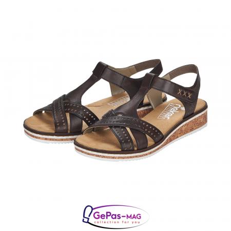 Sandale casual dama, piele naturala, V3677-256