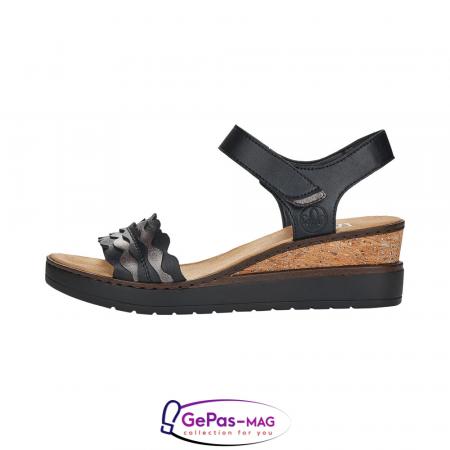 Sandale piele, casual V38F3-004