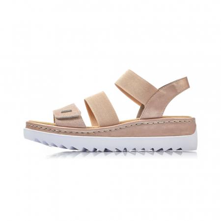 Sandale dama casual, piele naturala, RIK V4422-312