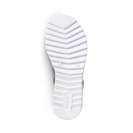 Sandale dama casual, piele naturala, RIK V4422-311