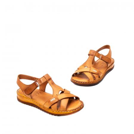Sandale dama casual, piele naturala, Y2135 16-C [1]