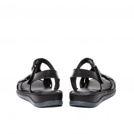 Sandale dama casual, piele naturala, Y2135 01-N6