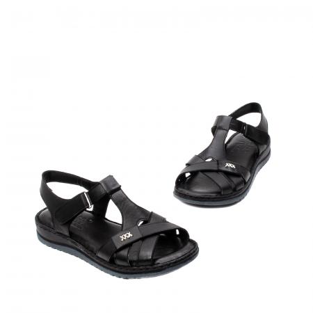 Sandale dama casual, piele naturala, Y2135 01-N1