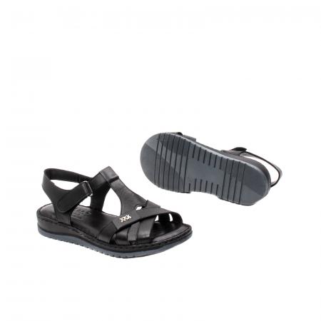 Sandale dama casual, piele naturala, Y2135 01-N3