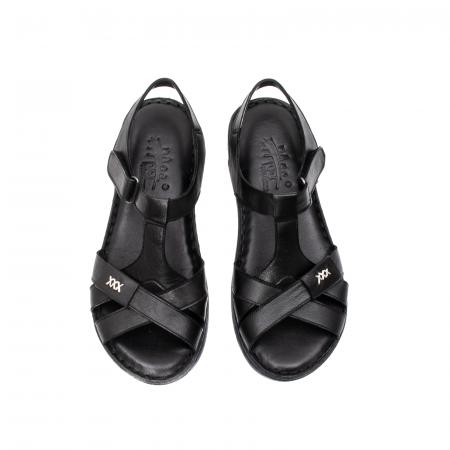 Sandale dama casual, piele naturala, Y2135 01-N5