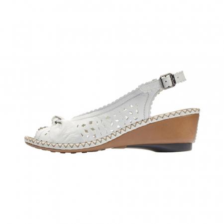 Sandale dama,piele naturala Rieker 66176-806