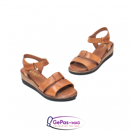 Sandale dama casual, piele naturala, D42007 C [1]