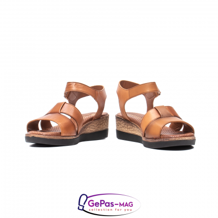 Sandale dama casual, piele naturala, D42007 C [4]