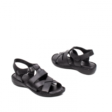 Sandale dama casual, piele naturala, E3430 N2