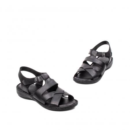 Sandale dama casual, piele naturala, E3430 N1