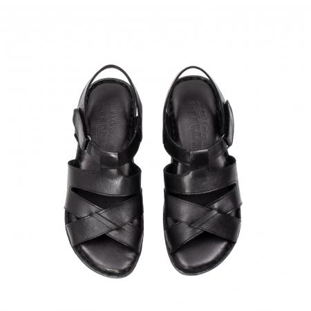 Sandale dama casual, piele naturala, E3430 N5