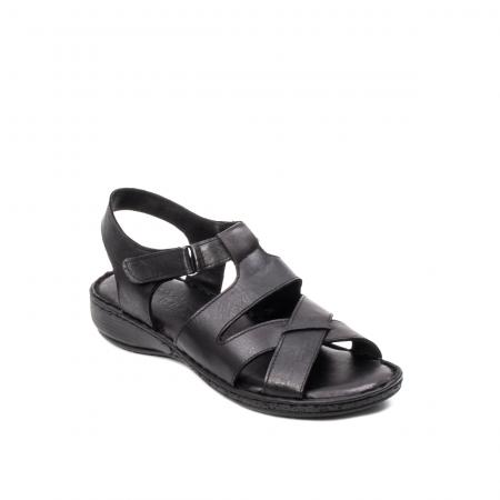 Sandale dama casual, piele naturala, E3430 N0