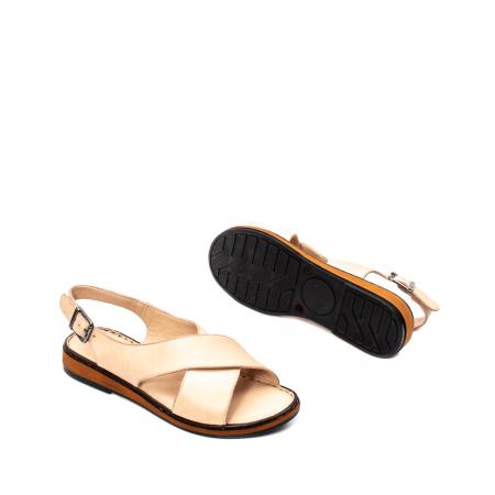 Sandale dama casual, piele naturala, E51203 B3