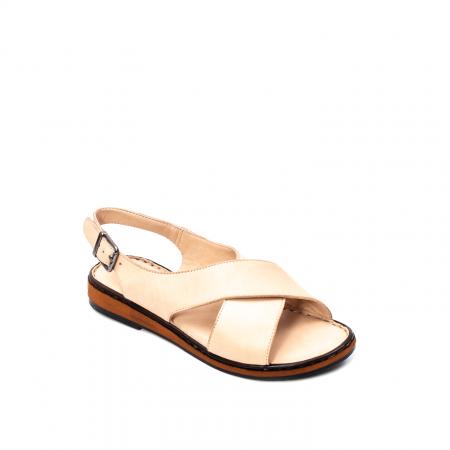 Sandale dama casual, piele naturala, E51203 B0