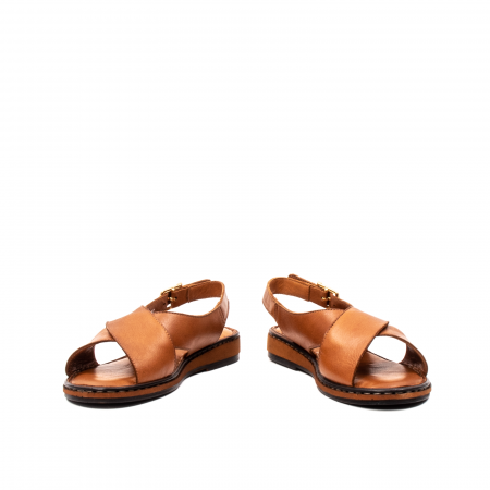 Sandale dama casual, piele naturala, E51203 C4