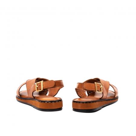 Sandale dama casual, piele naturala, E51203 C6