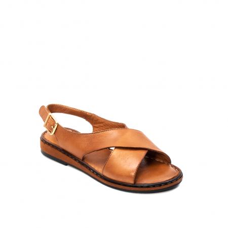 Sandale dama casual, piele naturala, E51203 C0