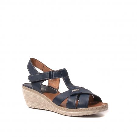 Sandale dama casual, piele naturala Lfx 214-bl0