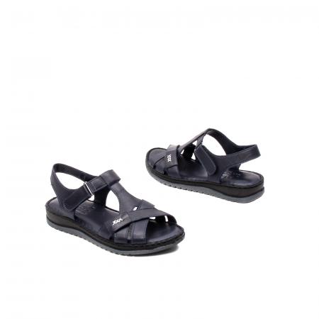 Sandale dama casual, piele naturala, Y2135 BL2