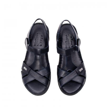 Sandale dama casual, piele naturala, Y2135 BL5