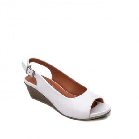 Sandale dama casual, piele naturala, ZJ606-3 A0