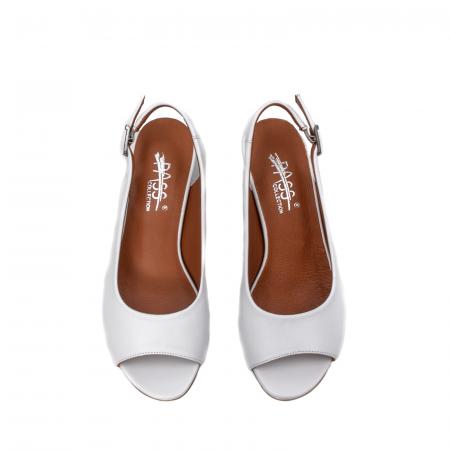Sandale dama casual, piele naturala, ZJ606-3 A5