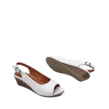 Sandale dama casual, piele naturala, ZJ606-3 A3