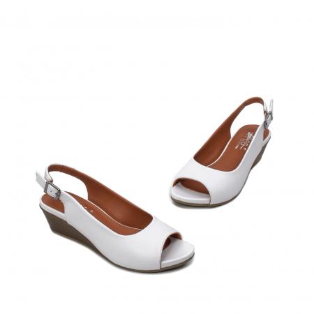 Sandale dama casual, piele naturala, ZJ606-3 A1