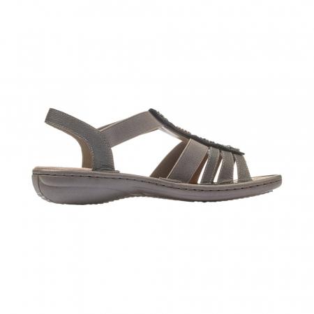 Sandale dama elegante, piele ecologica, 608G9-2