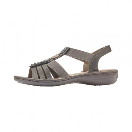 Sandale dama elegante, piele ecologica, 608G9-5